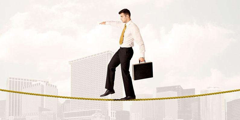 Cégvezetőként miért érdemes kötéltáncosnak lenni?